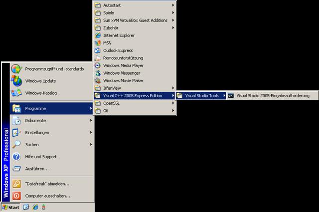 Howto: Build Qt and Quassel under Windows (static